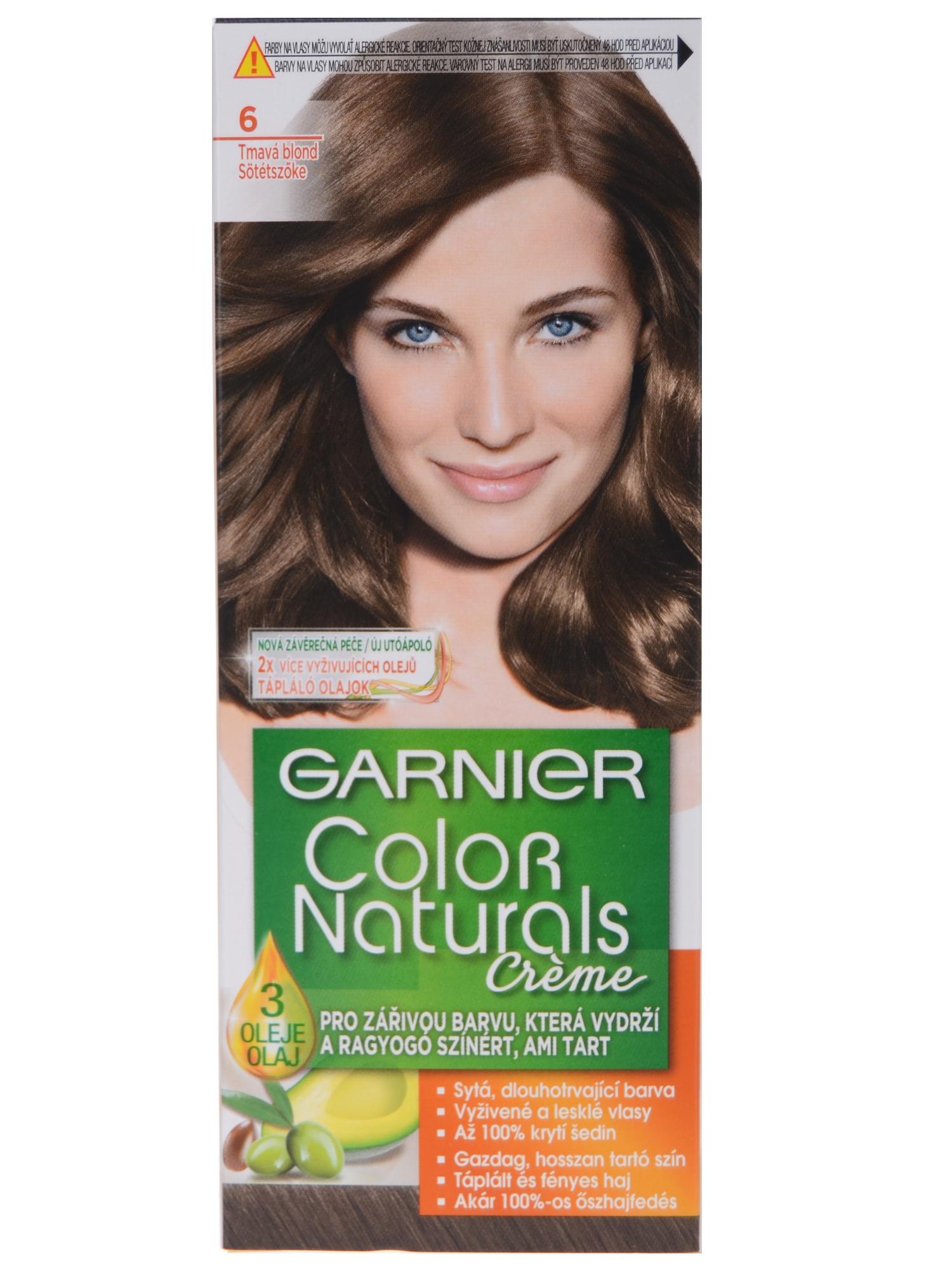 Permanentná farba Garnier Color Naturals 6 tmavá blond - Garnier ... 03de45614b9
