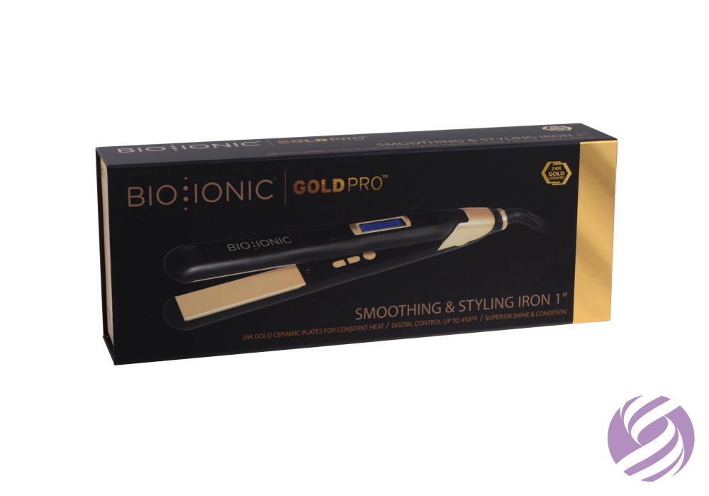 Žehlička na vlasy Bio Ionic s obsahom 24K zlata  70e71c63707