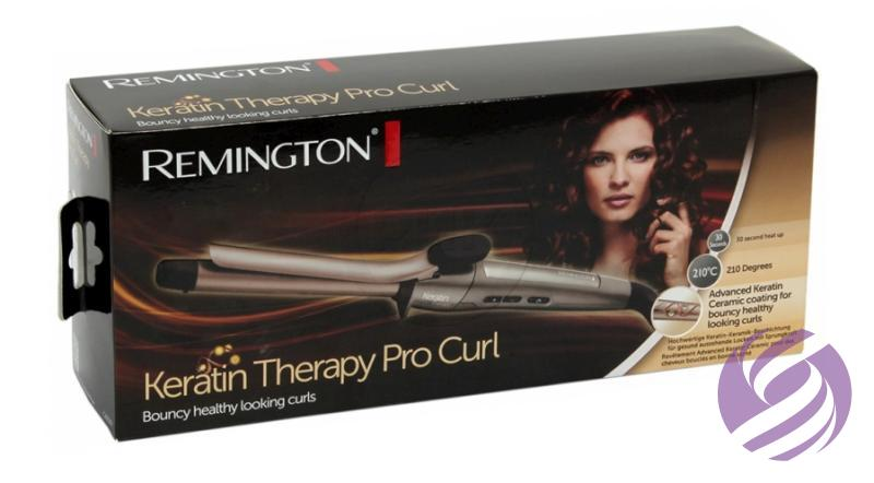 Remington Kulma na vlasy Keratin Therapy Pro Curl - 19 mm - Remington  7e8fa71bffc