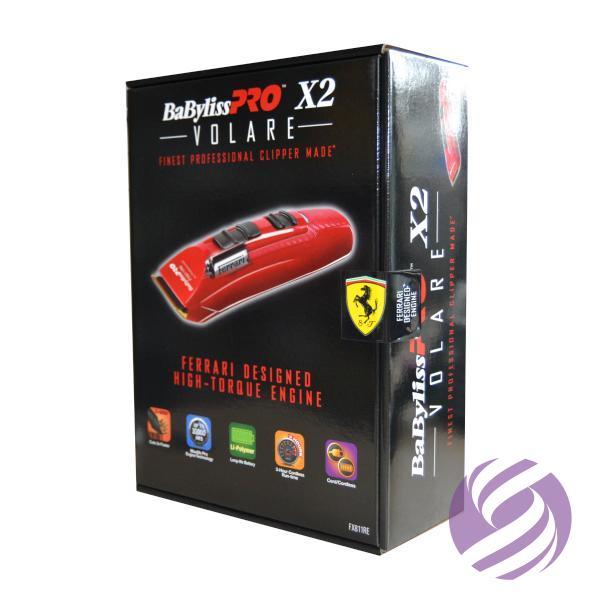 Strojček na vlasy BaByliss Pro X2 FERRARI FX811RE - červený - BaByliss Pro   625932fe3b1