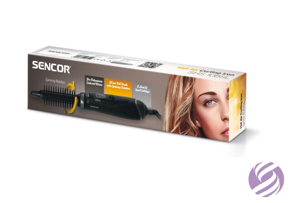 Teplovzdušná kulma na vlasy Sencor SHS 108SL - čierna - Sencor ... c84bca64b1a